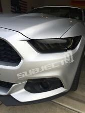 2015-2017 Mustang full FRONT & REAR smoked precut vinyl tint overlays tail head