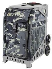 ZUCA Bag ANACONDA Insert & Gray Frame w/Flashing Wheels - FREE SEAT CUSHION