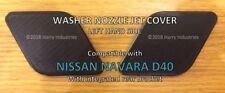 Cubierta de Chorro Boquilla de arandela Faro Lh-se adapta a Nissan Navara D40-por favor, lea