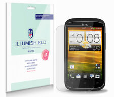 iLLumiShield Matte Screen Protector w Anti-Glare/Print 3x for HTC Desire C