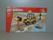 LEGO®Juniors Bauanleitung 10666 Digger ungelocht instruction B2825