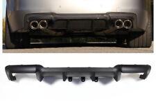 Heckdiffusor für für BMW F10 F11 M5 Performance 4 Rohr Umbau Schwarz Matt