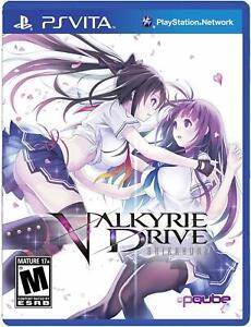 Valkyrie Drive: Bhikkhuni [Sony PlayStation PS Vita PQube Games Beat 'em Up] NEW