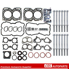 Head Gasket Set Bolts Fit 04-06 Subaru Baja Forester Outback TURBO 2.5 DOHC