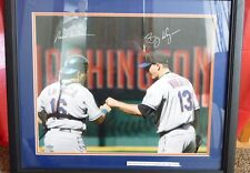 BILLY WAGNER & PAUL LODUCA AUTOGRAPHED STEINER CUSTOM FRAMED 16X20 METS PHOTO