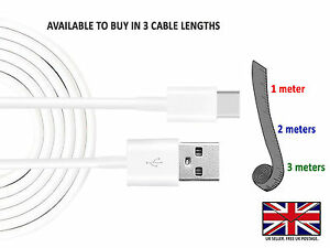 For Samsung S10 S9 S8 Note 9 8 USB Type C 3.1 Data Sync Charger Cable Lead Wire