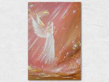 """Kunstfoto, Wandbild: """"Einen Engel getroffen"""" Engelbild Spirituelle Wanddeko"""