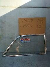 VOLVO 140 142 RIGHT REAR GLASS WINDOW W/ MOULDING