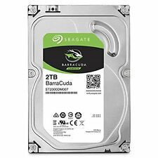 "Seagate BarraCuda 2 TB Internal 3.5"" Hard Drive 2TB ST2000DM006 7200RPM 64MB"