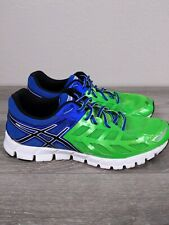 Asics Gel Lyte 33 Running Shoes Apple Green /Blue/Black Mens Size 9.5 T2H2N