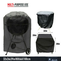 "BBQ Gas Grill Cover 39"" Barbecue Waterproof Outdoor Heavy Duty Protection USA"