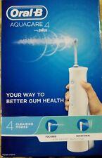 Oral-B Aquacare 4 Water Flosser Cordless Irrigator, Oxyjet Technology FREE POST