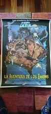 La aventura de los Ewoks - Poster Cartel original - Star Wars George Lucas