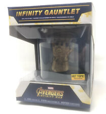MINT! Funko Infinity Guantlet with Clear Dome Display - Hot Topic Exclusive
