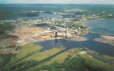 Aerial View McFadden Lumber Co. BLIND RIVER Ontario Canada Perepelytz Postcard