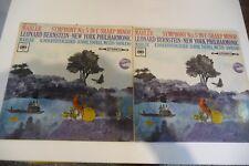 MAHLER SYMPHONY N°5 LEONARD BERNSTEIN JENNIE TOUREL.CBS. 2LP SBRG 72182/83. UK