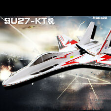 KT SU-27 Super Remote Control Airplane/Jet 6CH RC Quadcopter Foam Glider Kits Z