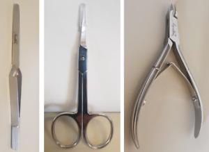Aretini Nails Professional - Nail Scissors - Cuticle Nipper - Pinch Tongs
