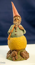 "Happy ""Wizzard"" Tennis Ball Figurine-1989-Signed- Collectible Vintage Colorfull"