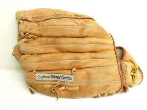 "Wilson A9850 Optima Silver Series Leather RH Throw 11 1/2"" Softball Glove 13"""