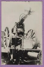 0417G  RPPC WWI GERMAN CLOSE UP ARTILLERY CANNON REAL PHOTO POSTCARD