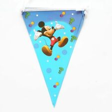 Mickey Mouse Banner Bunting Flag Happy Birthday 2.5 Meter