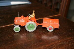 Dinky Field Marshall Tractor and Trailer