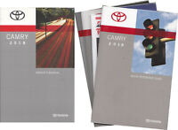 2018 Toyota Camry Owners Manual Gas Models Owner User Instruction Guide Book