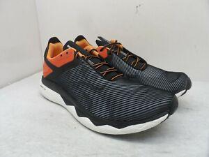 Reebok Men's Floatride Run Panthea Athletic Sneakers Black/Orange Size 12M
