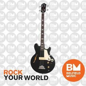 Epiphone Jack Casady Signature Bass Guitar Ebony - EBJCEBCH1