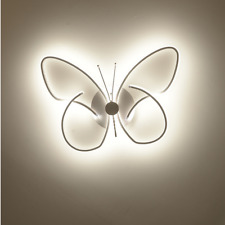 Modern LED Light Ceiling Lamp Butterfly Lighting Bedroom Ceiling Lamp Fixtures