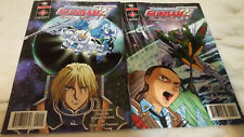 Mobile Suit Gundam Wing Endless Waltz comic book series lot #2 & 4