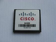 Genuine cisco mem1800-64cf 1801 1811 1841 mem2800-64cf 2801 2811 2821 64 mo flash