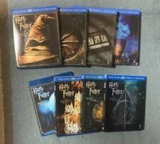 Harry Potter Blu Ray Complete Set 2 Disc Editions