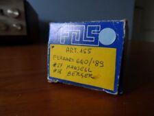 F.D.S Ferrari  640 F1/89 1989 F1  Mansell / Berger White Metal kit 1:43