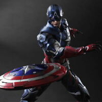 Collection Action Figure Statue Gift Box Toy Play Arts Kai Captain America