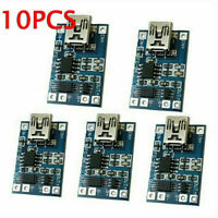 10 TP4056 1A Micro USB Charger Module 5V 18650 Lithium Battery Charging Board US