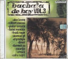 Alex Bueno Wilbert Manuel Frank Reyes Bachata De Hoy Vol3 CD New Sealed