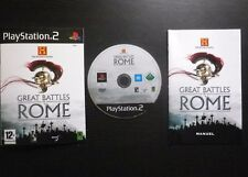 JEU Sony PLAYSTATION 2 PS2 : GREAT BATTLES OF ROME (complet, envoi suivi)