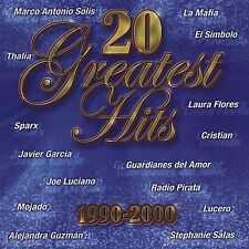 Marco Antonio Solis, LA Mafia, Sparx, Jordi 20 Greatest Hits 1990-2000 CD New