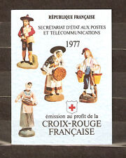 FRANCE 1977...BOOKLET OF 8 STAMPS n° 2026...FRENCH RED CROSS...MNH **