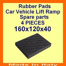 Universal Scissor Lift Pads - H40 - Ramp Rubber Blocks - Made in Italy -HQuality