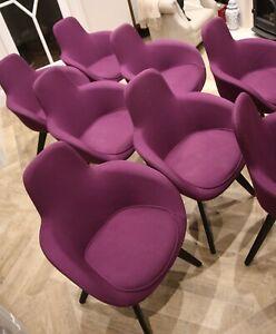 Tom Dixon Scoop Armchair Dining Desk Chair, 9 In Total.