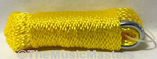 Yellow Hollow Braided 1/4