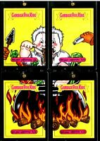 ANTHONY BOURDAIN 1/1 PUZZLE FULL COLOR SKETCH CARD TOPPS 2017 GARBAGE PAIL KIDS