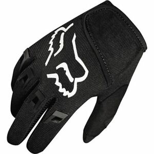 Fox Racing Dirtpaw Pee Wee Motorcycle Glove - Black/White, All Sizes