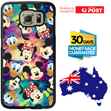 Galaxy Note 8 S8 S7 S6 S5 Edge Plus Rubber Case Disney Mickey For Girls Samsung