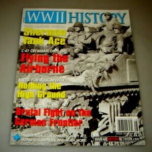 WWII History Aug Sept 2020 Sherman Tank Ace German Frontier