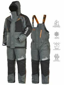 Very comfortable suit for winter fishing and travel Norfin Discovery 2. Membrane