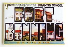"Greetings from Fort Benning Georgia Fridge Magnet travel souvenir ""style A"""
